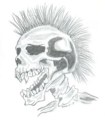 Squelette dessins et tatoos - Dessin de squelette ...