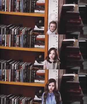 La rencontre entre Bella et Sa Fille rénesmée