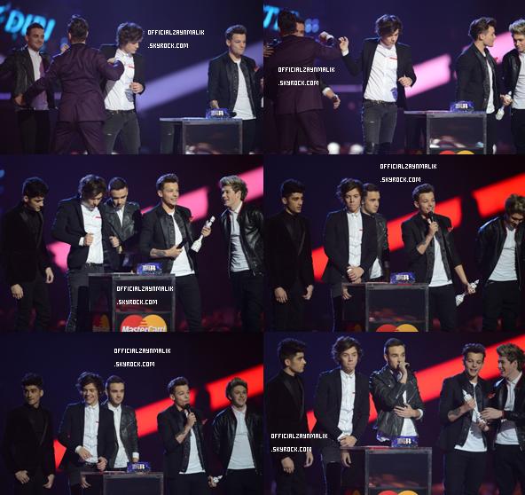 Actualité de Zayn Malik & de One Direction, 21 Février 2013