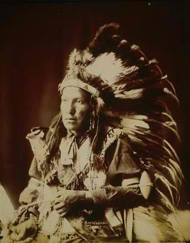 Bad Wound - Sioux Oglala 1899