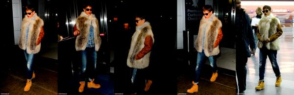 Le 28 janvier 2013 Rihanna arrive à l'aéroport JFK de Los Angeles !