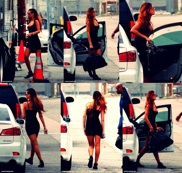 """Rihanna sur le tournage de son prochain clip """" Stay """""""
