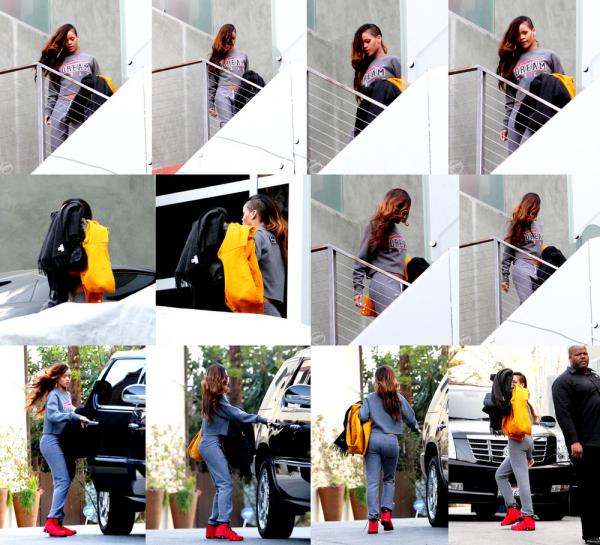 Le 6 février Rihanna a été vue quittant la résidence de Chris Brown !