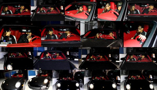Le 5 Février Rihanna a été vue quittant le studio d'enregistrement de Los Angeles avec Chris Brown !