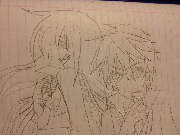Oz&Alice dessin Pandora Hearts