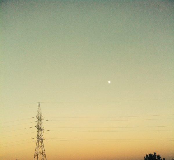 Le ciel est plus beau quand le soleil se couche,non?^-^