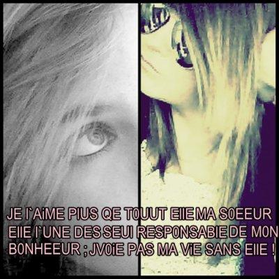 ~  LES SO0EUR ; MON SANG ♥