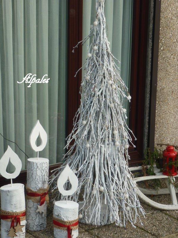 En attendant Noël ( déco extérieure)