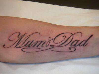 Tatoo Ecriture Bras Ma Passion Les Tatouages Et Les Piercings