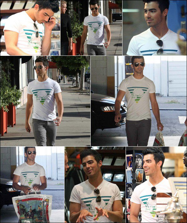 00    15 septembre 2010 :   Joe a été aperçu au magasin American Rag à Los Angeles  00