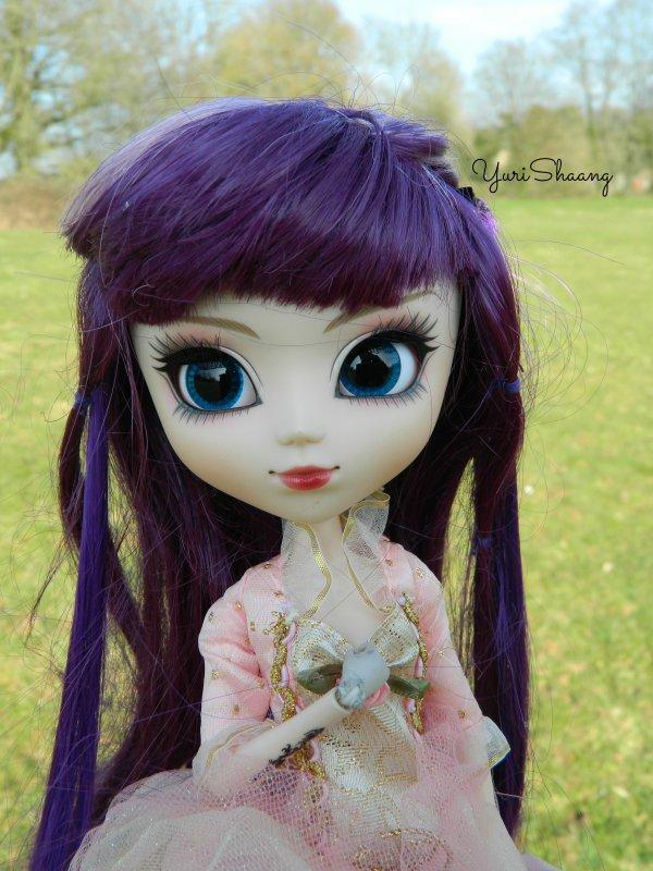 Abby, une Princesse Ninjette ! +Info Cochon D'inde
