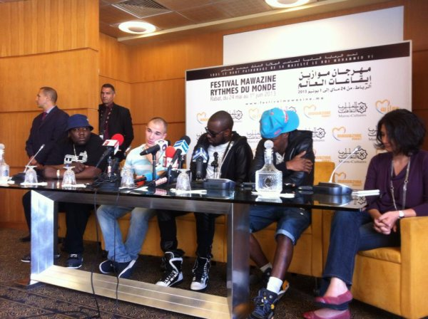 """En direct du Festival Mawazine au Maroc!"""