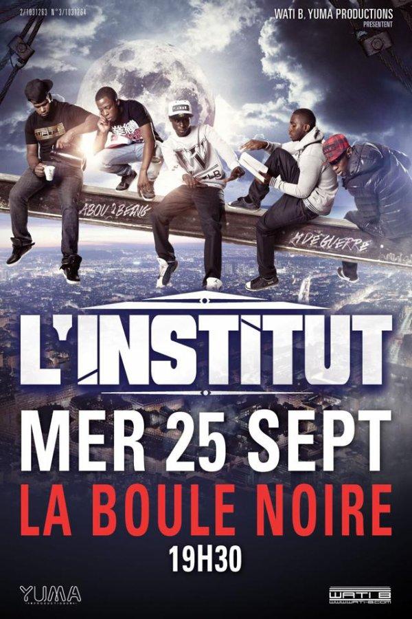 """""""Qui sera la le 25 septembre pr voir L INSTITUT? Nous oui! #WA"""""""
