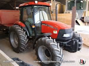 je vous presente le tracteur case