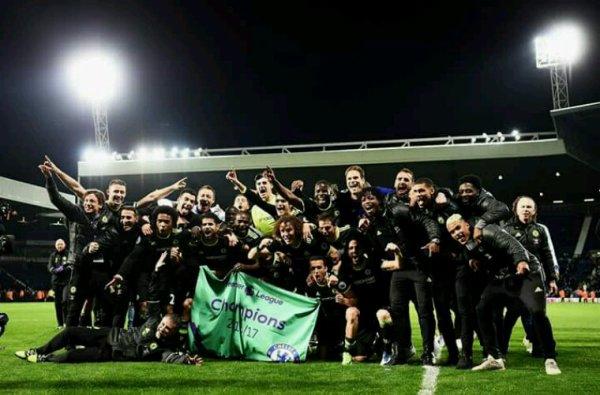 Chelsea champion !!!