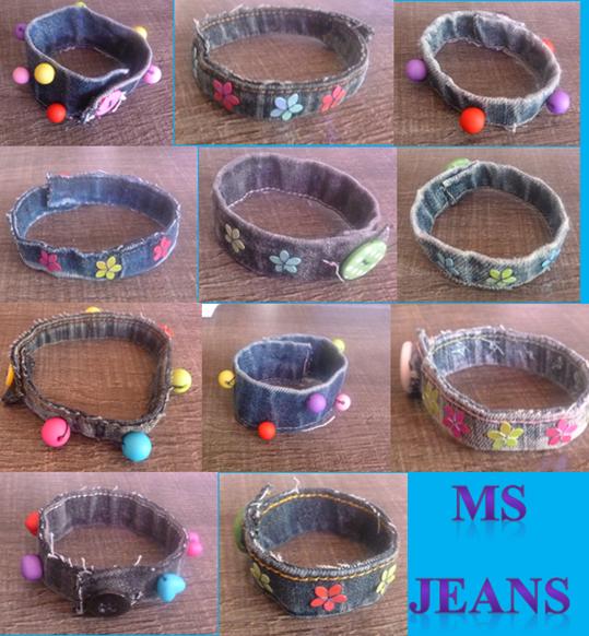 nouvelle série de bracelets