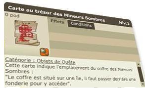 Carte Au Tresor Mineur Sombre Dofus.Carte Au Tresor Des Mineurs Sombres Dofus