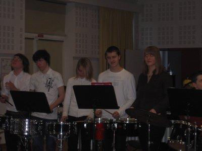 Deuxième audition de batterie le 15/02/2009