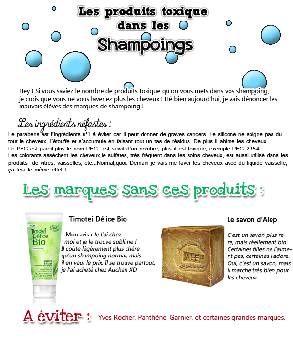 Les Shampoings