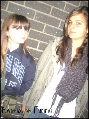 Emma et Fanny ♥