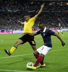 France vs Jamaïque .