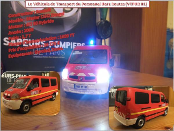 Le Véhicule de Transport du Personnel Hors Route (VTPHR 01)