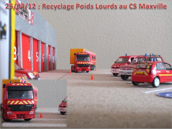 Recyclage Poids Lourds au CS Maxville