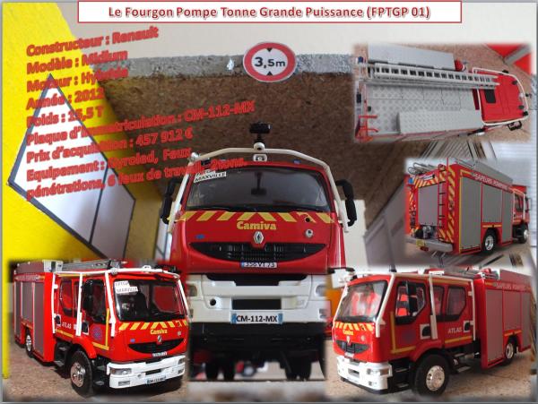 Le Fourgon Pompe Tonne Grande Puissance (FPTGP 01)