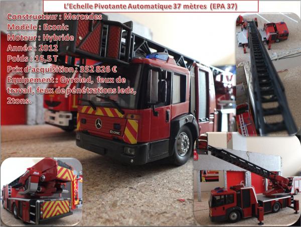 L'Echelle Pivotante Automatique 37 mètres (EPA 37)