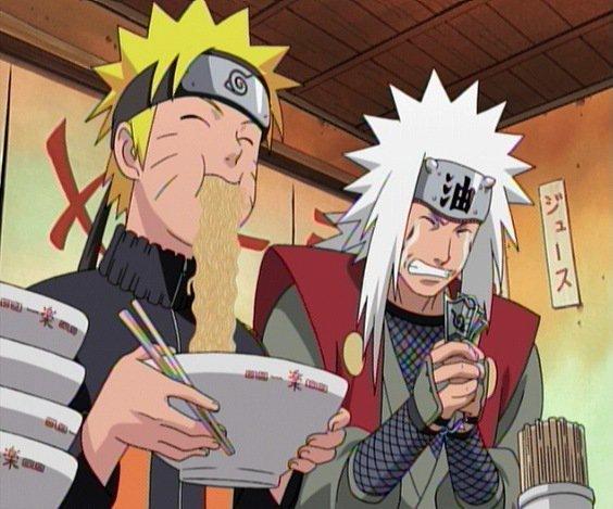Naruto & les Ramènes