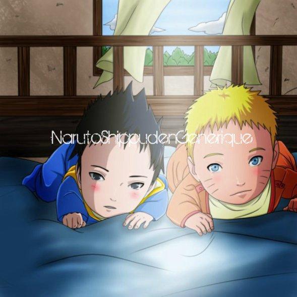 Bébé Naruto & bébé Sasuke
