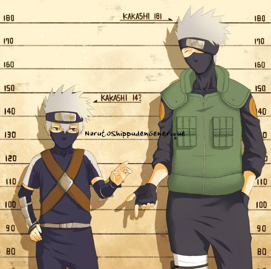 Kakashi Hatake evolution