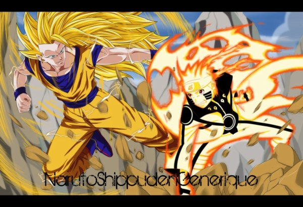 San Goku VS Naruto !