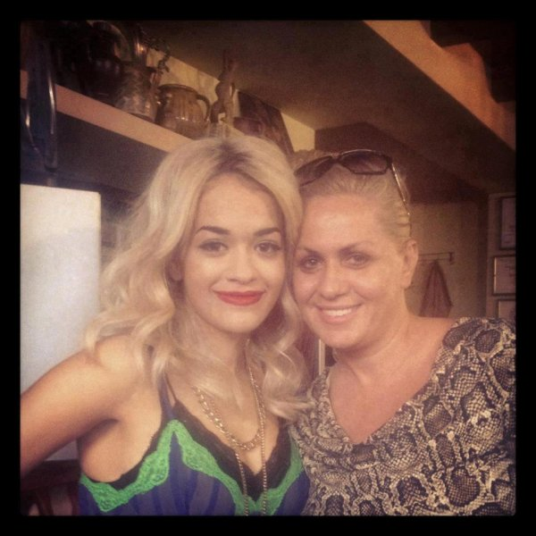 Rita Ora & Gili - 2012