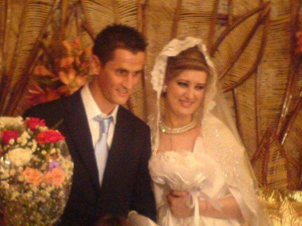 mariage du joueur algerien