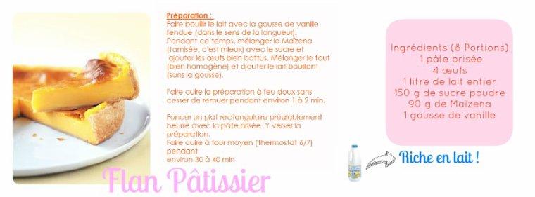 Le Célèbre Flan Pâtissier.