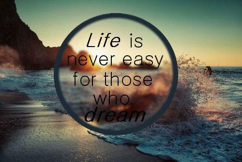 « Il suffit de cesser de croire une seule seconde pour que le rêve se brise en mille morceaux. »