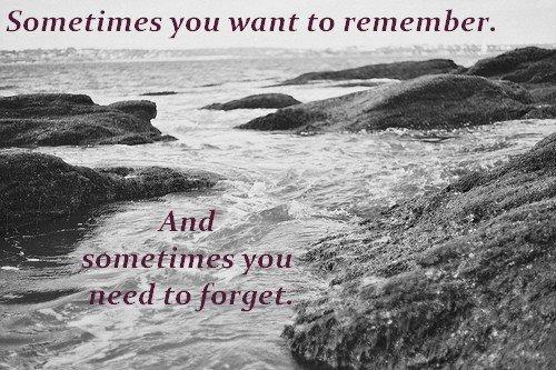 « Si j'avais le pouvoir d'oublier, j'oublierais. »