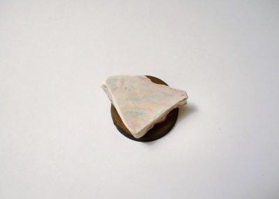 Socle tentative marbre