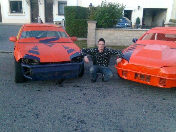 Moi et mes 2 autos de cross