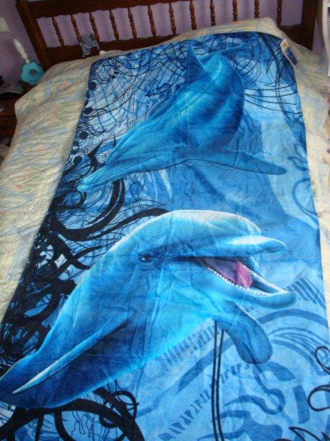 serviette de plage dauphin