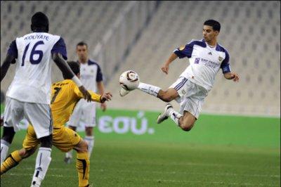 Match :  AEK Athènes - Rsc Anderlecht  1-1