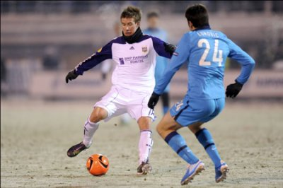 Match : Zenith St. Peterbourg - Rsca  3-1