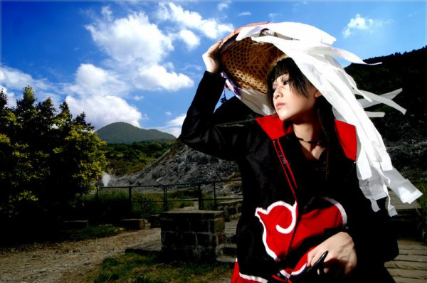 # Cosplay Itachi Uchiwa #
