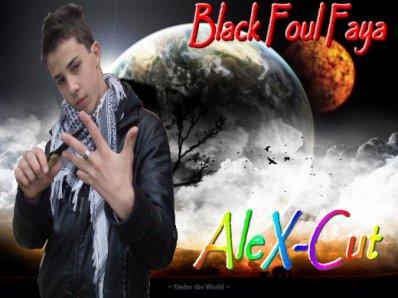 Alex-Cut Black foul faya