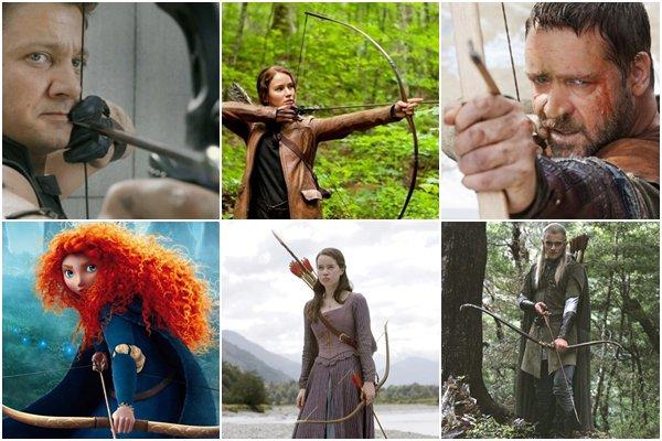 La mode des archers au cinéma.