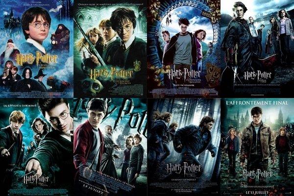 Quels sont tes Harry Potter préférés ?