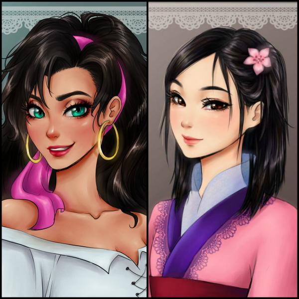 Petit Sondage personnages féminins de Disney