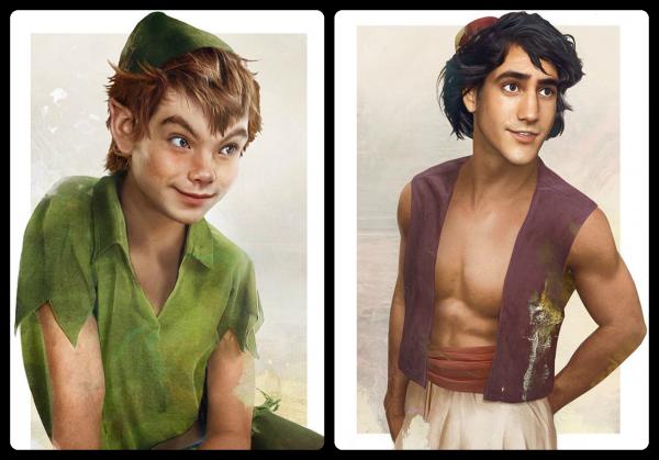Sondage sur les personnages masculins de Disney