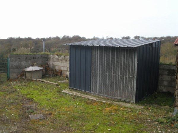 CONSTRUCTION DE MON NOUVEAU PIGEONNIER ( PARTIE 1)